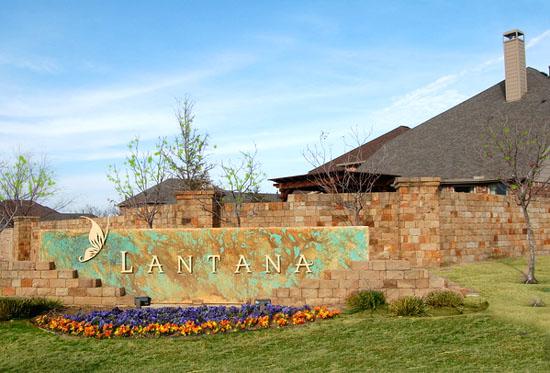 lantana texas entry monument