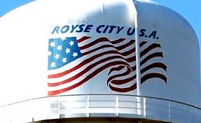 royce city texas water tower