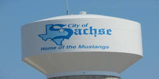 sachse texas water tower