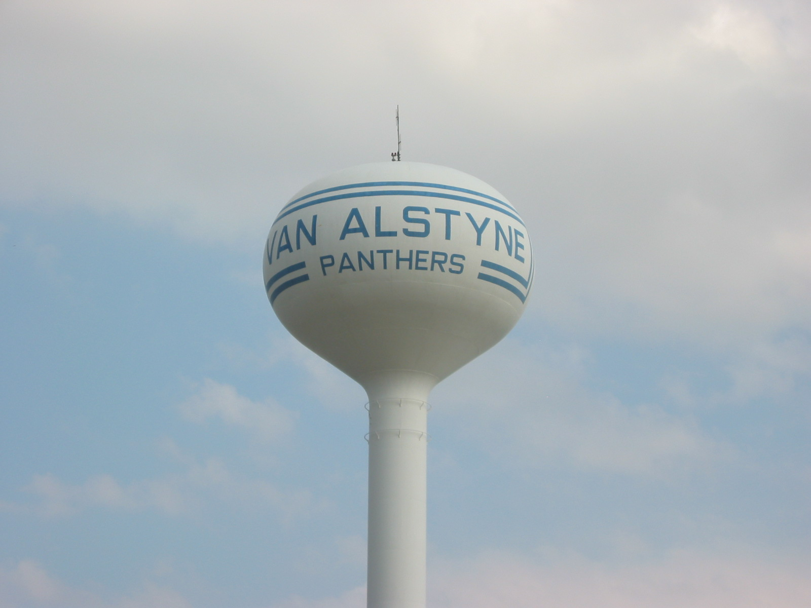 van alstyne texas water tower