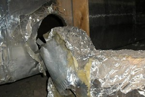 ductwork not attached