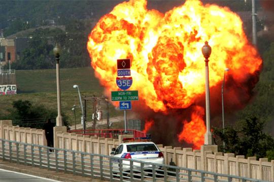 gas leak explosion
